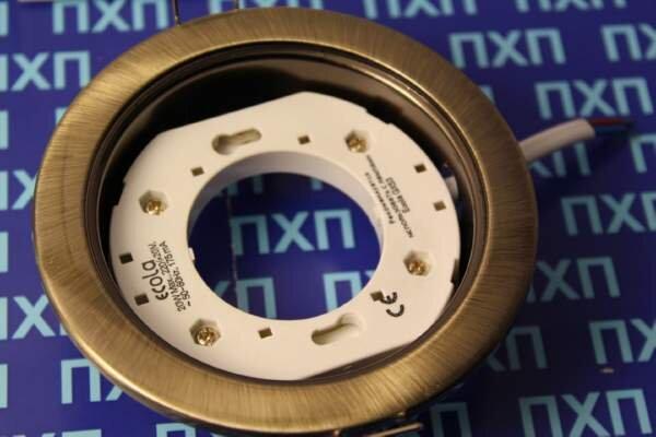 Продажа светльника Ecola GX54 H4 Черная бронза фото 4