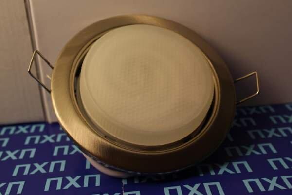 Продажа светльника Ecola GX54 H4 Сатин фото 3