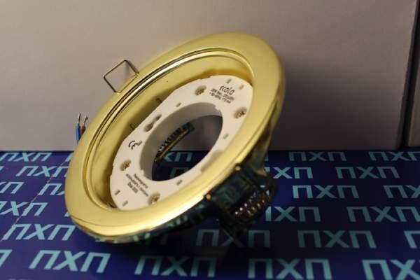 Продажа светльника Ecola GX54 H4 Золотой фото 2