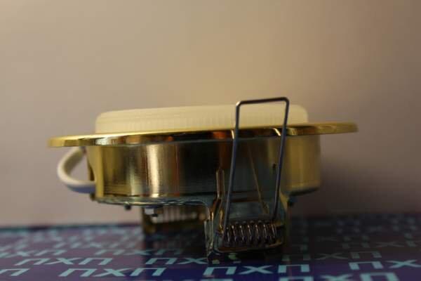 Продажа светльника Ecola GX54 H4 Золотой фото 3