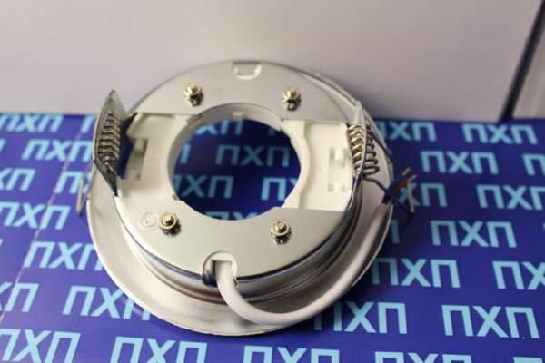 Продажа светльника Ecola GX54 H4 Хром фото 2